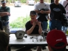 Donnie Unger explaining the workings of the Desmo system.