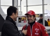 Ralph Shaheen interviews Carlos Checa on Saturday.  5 pm. No rain yet