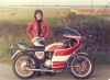 1977 - I started customizing my CB400F.