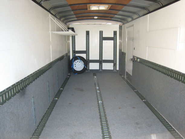 Enclosed Trailer Interior Ideas Quotes Motorcycle Review