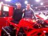 John & Rick Hackett of Ducati Coventry & JHP Racing