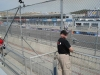 We got grandstand seats across from the pits for the Saturday open practice and qualifying.