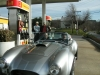 Mike's test ride in David's Cobra