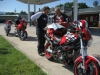 Mike Lehman joined in for a bit on his new Multistrada. This is a stop in Edinburg