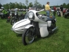 A nice Triumph Side Car rig