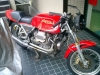 another Magni-Guzzi waiting for service