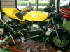 Guzzi 1100 Sport, used to be a racer but now a street bike to be sold