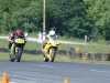 I am passing exiting turn 10 taking advantage of the oil dry, it it scared other riders!