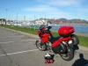 At the SF Marina after descending through the mountains and across the Golden Gate in the background.