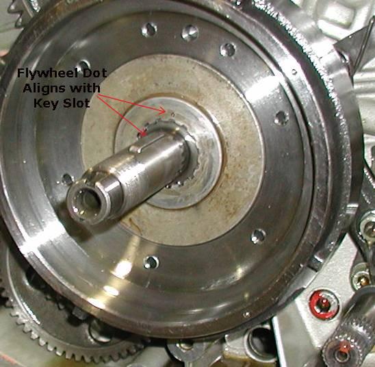 Alternator Cover/Flywheel