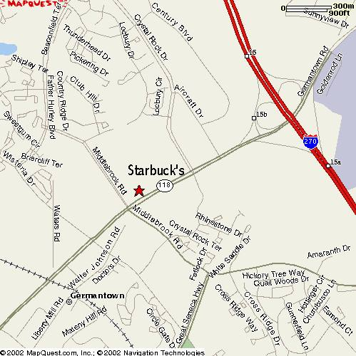 Directions To Starbucks Germantown